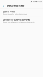 Samsung Galaxy S7 - Android Nougat - Red - Seleccionar una red - Paso 7