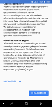 Samsung galaxy-a6-sm-a600fn-ds - Applicaties - Account aanmaken - Stap 15