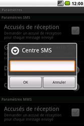 LG GW620 - SMS - configuration manuelle - Étape 5