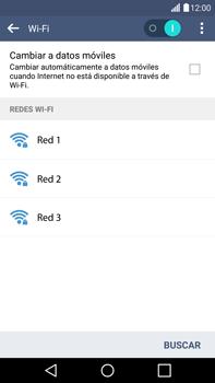 LG G4 - WiFi - Conectarse a una red WiFi - Paso 6