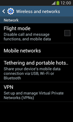 Samsung Galaxy Trend Plus S7580 - Network - Usage across the border - Step 5