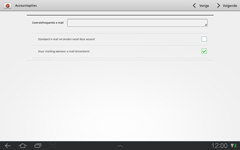 Samsung P7500 Galaxy Tab 10-1 - E-mail - Handmatig instellen - Stap 11