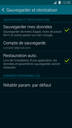 Samsung Galaxy S5 G900F - Device maintenance - Back up - Étape 11