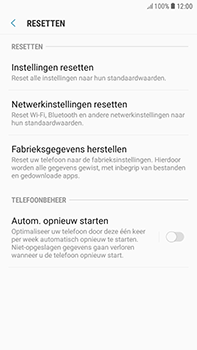 Samsung Galaxy J4 - Toestel reset - terugzetten naar fabrieksinstellingen - Stap 6