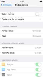Apple iPhone 6s iOS 10 - Internet no telemóvel - Como ativar os dados móveis -  4