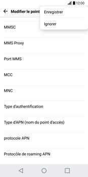 LG H870 G6 - Internet - Configuration manuelle - Étape 15