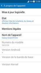 Samsung G530FZ Galaxy Grand Prime - Appareil - Mises à jour - Étape 6