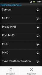 Sony ST25i Xperia U - MMS - Configuration manuelle - Étape 13