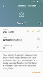 Samsung Galaxy J5 (2017) - Contact, Appels, SMS/MMS - Ajouter un contact - Étape 12