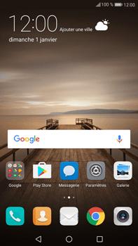 Huawei Mate 9 - WiFi et Bluetooth - Configuration manuelle - Étape 2