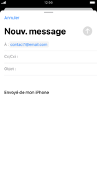 Apple iPhone 8 - iOS 13 - E-mail - envoyer un e-mail - Étape 5
