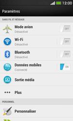 HTC Desire 500 - Internet - Activer ou désactiver - Étape 4