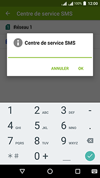 Acer Liquid Zest 4G Plus - SMS - configuration manuelle - Étape 9