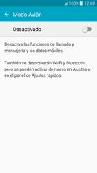 Samsung Galaxy J5 - Funciones básicas - Activar o desactivar el modo avión - Paso 5