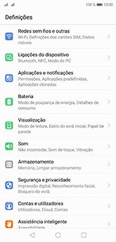 Huawei P20 - Internet no telemóvel - Como ativar os dados móveis -  3