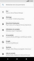 Google Pixel 2 - Device maintenance - Retour aux réglages usine - Étape 5