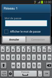 Samsung S6810P Galaxy Fame - Wifi - configuration manuelle - Étape 6