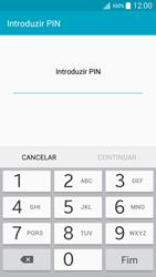 Samsung Galaxy A5 - Segurança - Como ativar o código de bloqueio do ecrã -  7