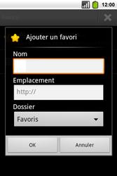 Alcatel OT-991 Smart - Internet - Navigation sur Internet - Étape 8