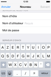 Apple iPhone 4s iOS 8 - E-mail - Configuration manuelle - Étape 12