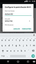 Crosscall Action X3 - Internet et connexion - Partager votre connexion en Wi-Fi - Étape 7