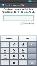 LG Optimus F6 - Sécuriser votre mobile - Activer le code de verrouillage - Étape 9