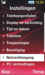Samsung S7350 Ultra Slide - Buitenland - Bellen, sms en internet - Stap 5