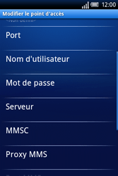 Sony Ericsson Xperia X8 - Internet - Configuration manuelle - Étape 9