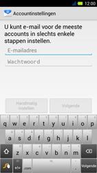 Acer Liquid E3 - E-mail - Handmatig instellen - Stap 5