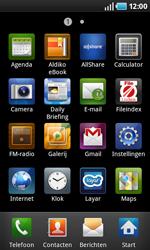 Samsung i5800 Galaxy Apollo - Internet - Handmatig instellen 2.2 - Stap 3