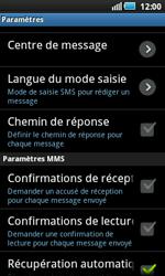 Samsung I5800 Galaxy Apollo - SMS - configuration manuelle - Étape 4
