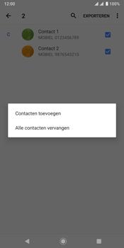 Sony xperia-xz3-dual-sim-model-h9438 - Contacten en data - Contacten kopiëren van toestel naar SIM - Stap 12