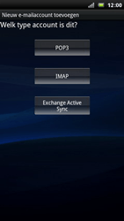 Sony Ericsson Xperia Arc - E-mail - Handmatig instellen - Stap 7
