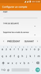 Wiko Freddy - E-mails - Ajouter ou modifier un compte e-mail - Étape 15