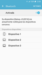 Samsung Galaxy J5 (2016) - Bluetooth - Conectar dispositivos a través de Bluetooth - Paso 6