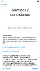 Apple iPhone 6 iOS 10 - Primeros pasos - Activar el equipo - Paso 20