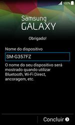 Samsung Galaxy Ace 4 - Primeiros passos - Como ligar o telemóvel pela primeira vez -  18