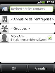 HTC A3333 Wildfire - E-mail - envoyer un e-mail - Étape 5