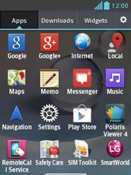 LG E430 Optimus L3 II - Internet - Internet browsing - Step 2