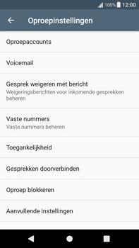 Sony Xperia XA1 Plus (G3421) - Voicemail - Handmatig instellen - Stap 5