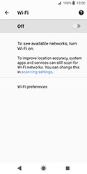 Sony Xperia XZ2 Compact - Wi-Fi - Connect to Wi-Fi network - Step 6