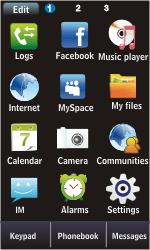 Samsung S5620 Monte - E-mail - Sending emails - Step 3