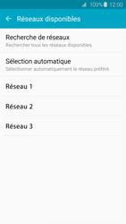 Samsung G925F Galaxy S6 Edge - Réseau - Sélection manuelle du réseau - Étape 7
