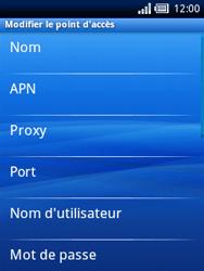Sony Ericsson Xperia X10 Mini - Mms - Configuration manuelle - Étape 8