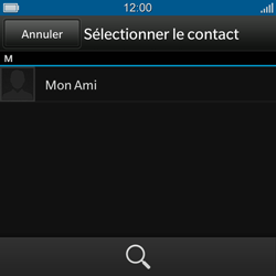 BlackBerry Q10 - MMS - envoi d'images - Étape 5