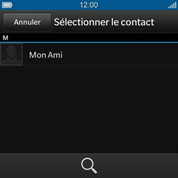 BlackBerry Q10 - Contact, Appels, SMS/MMS - Envoyer un MMS - Étape 6
