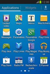 Samsung S6790 Galaxy Fame Lite - Wifi - configuration manuelle - Étape 2