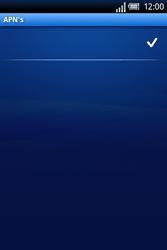 Sony Ericsson Xperia X8 - Internet - Handmatig instellen - Stap 13