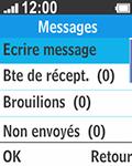 Bouygues Telecom Bc 211 - Contact, Appels, SMS/MMS - Envoyer un SMS - Étape 4