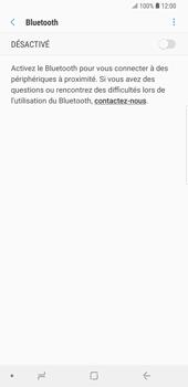 Samsung Galaxy S9 Plus - Internet et connexion - Connexion avec un équipement multimédia via Bluetooth - Étape 7